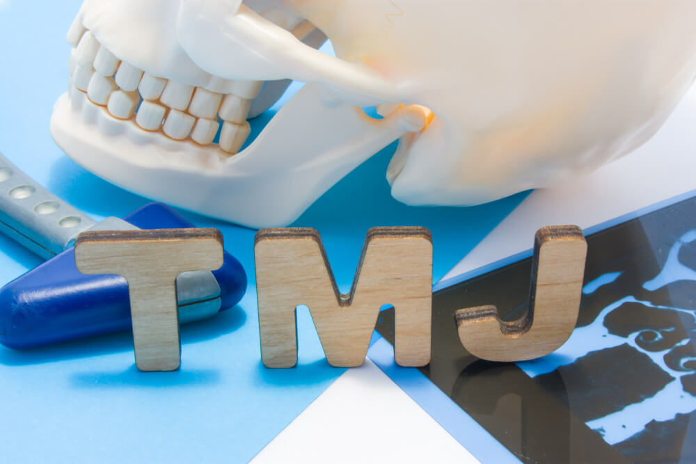 TMJ Treatment showing the concept of Services