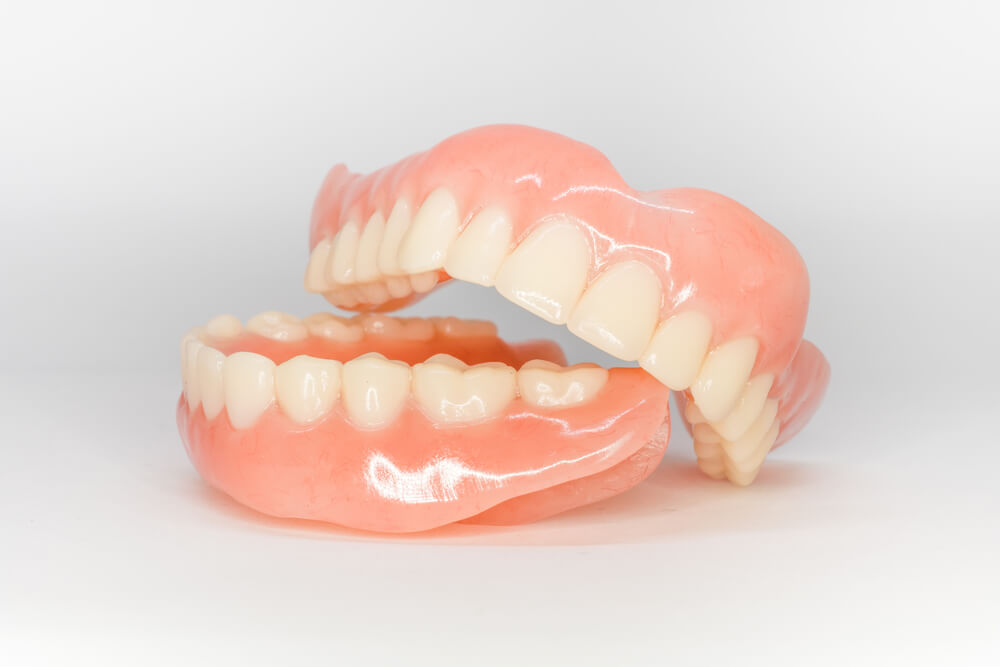 dentures showing the concept of Services